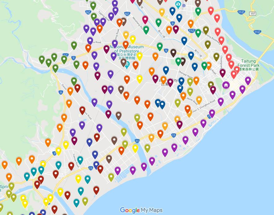 台湾google谷歌地图引用