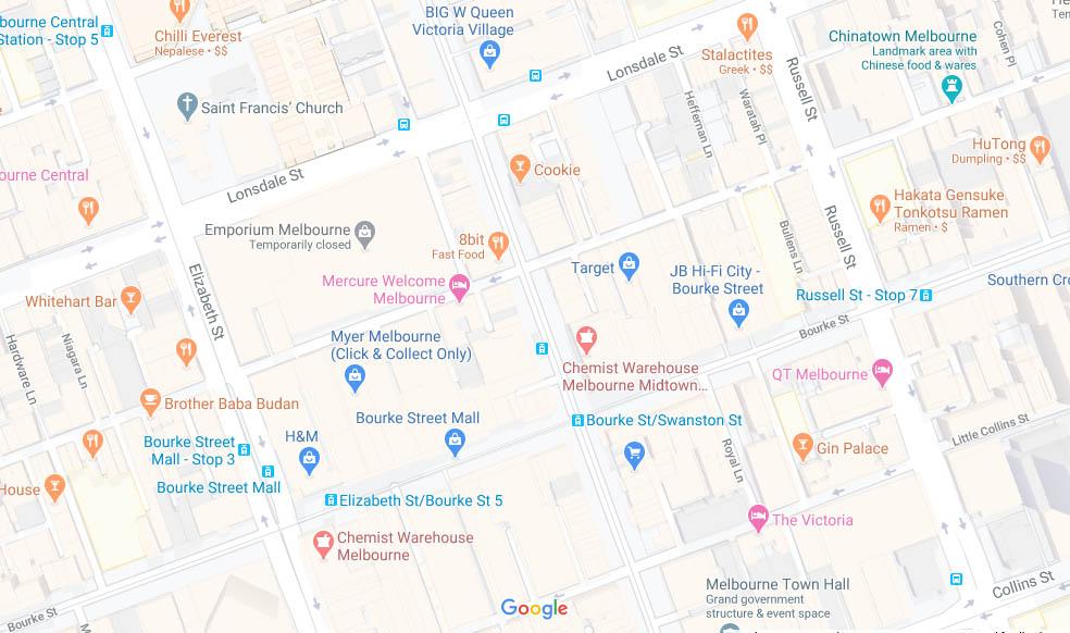 墨尔本提升Google地图排名